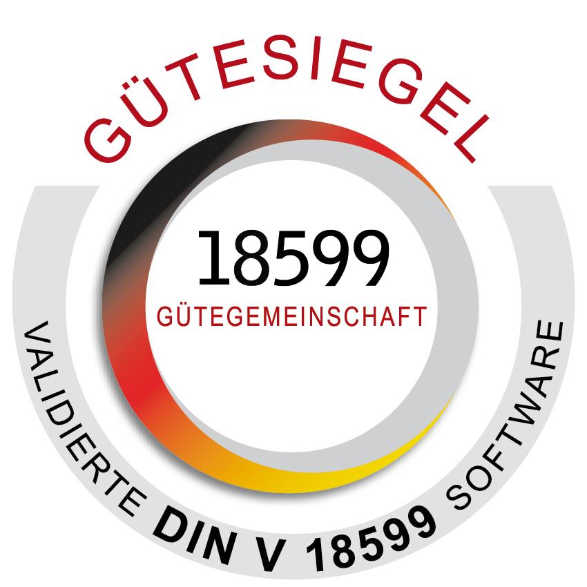 18599 Gütesiegel